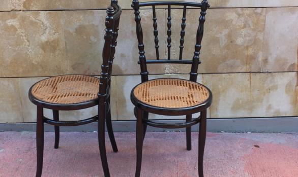 Mesilla 1940 la falsa taller de restauraci n de arte y - Reparacion de sillas de rejilla ...
