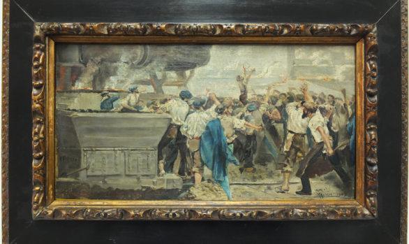 Óleo sobre tabla 1902