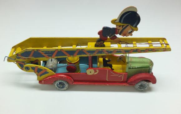 Juguete camión de bomberos